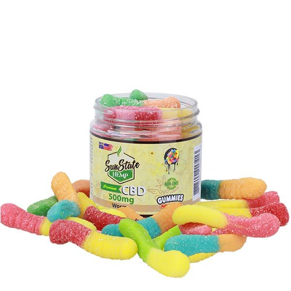 CBD Gummy Worms Sun State Scotland