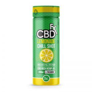 Cbdfx Lemon Chill Shot Scotland uk
