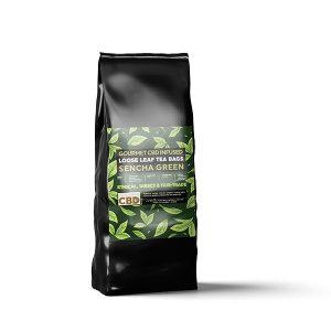 Equilibrium Green tea infused CBD tea bags Online Shop Scotland Uk