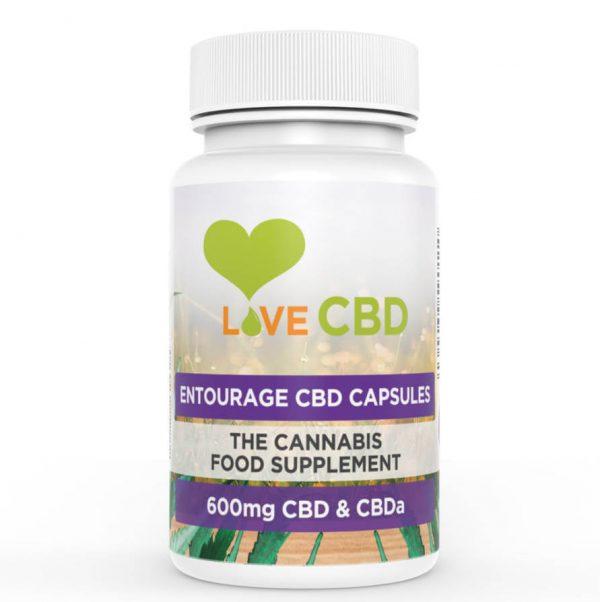 Love CBD 600mg CBD Capsules Online Shop Scotland UK