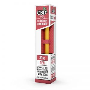 CBDfx Strawberry Lemonade Vape Pen shop scotland uk