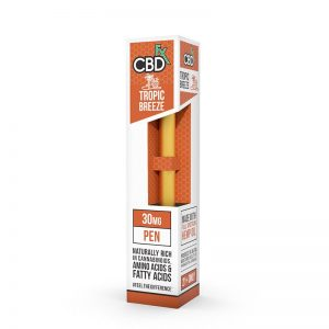 CBDfx tropic breeze pen shop scotland uk