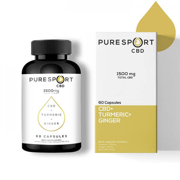 pure sport CBD oil capsules Scotland online Cbd shop Glasgow Scotland UK